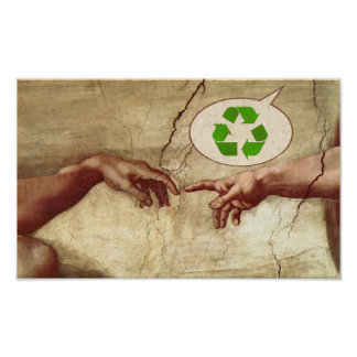 Recycle! -God Poster