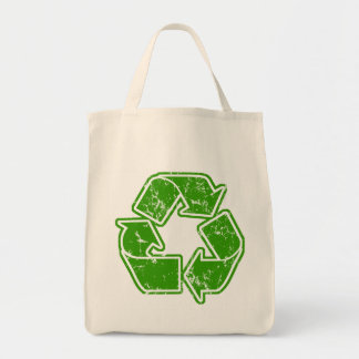 Recycle Graphic Vintage Bag