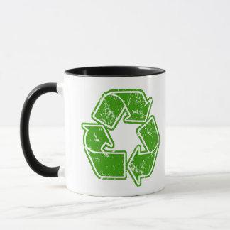 Recycle Graphic Vintage Mug