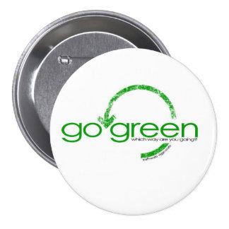 Recycle Green Arrow 7.5 Cm Round Badge