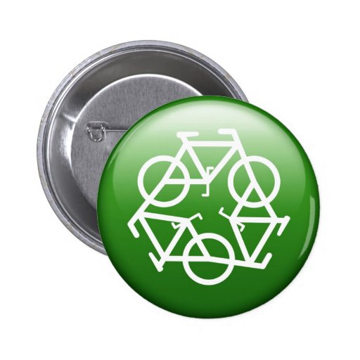 recycle green button by Petr Kratochvil