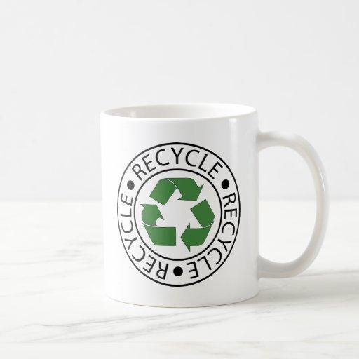 Recycle Green Ceter Logo Coffee Mug