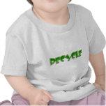 Recycle green design! tshirt