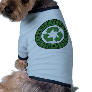 Recycle Green Logo BK Letters Pet T-shirt