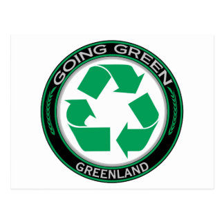 Recycle Greenland Postcard