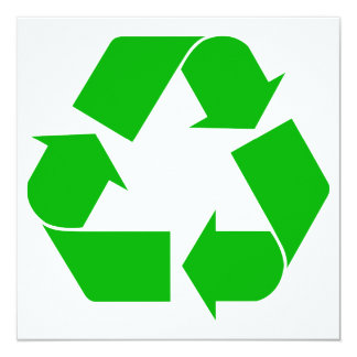 Recycle Invitation