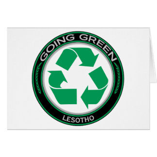 Recycle Lesotho Card