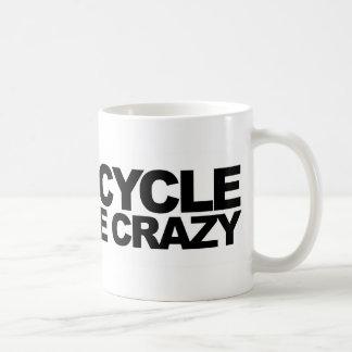Recycle Like Crazy Basic White Mug
