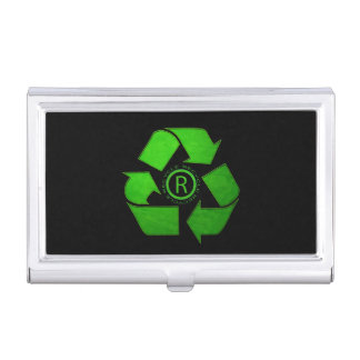 Recycle Logo Business Card Holder