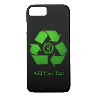 Recycle Logo by Shirley Taylor iPhone 8/7 Case
