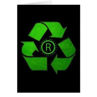 Recycle Logo Greeting Cards