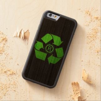 Recycle Logo Cherry iPhone 6 Bumper Case