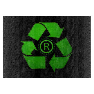 Recycle Logo Cutting Board