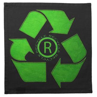 Recycle Logo Printed Napkin