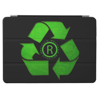 Recycle Logo iPad Air Cover