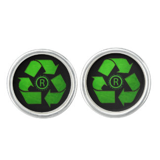 Recycle Logo Cuff Links