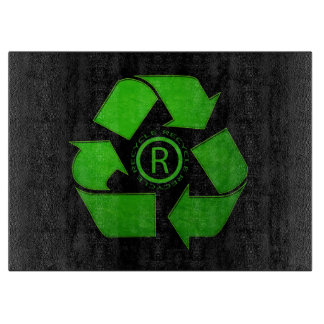 Recycle Logo Cutting Boards