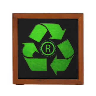 Recycle Logo Desk Organisers