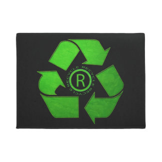 Recycle Logo Doormat