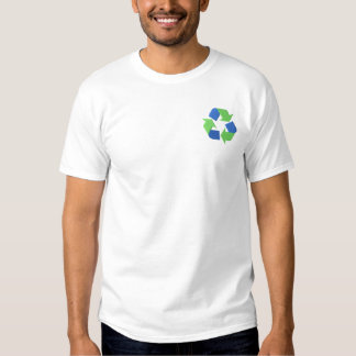 Recycle Logo Embroidered T-Shirt