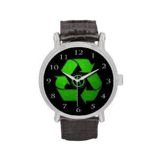 Recycle Logo Wristwatch