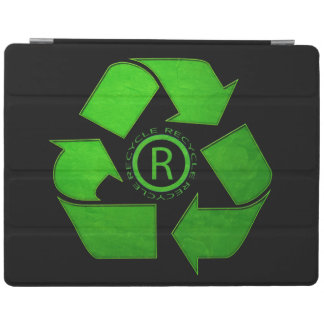 Recycle Logo iPad Cover