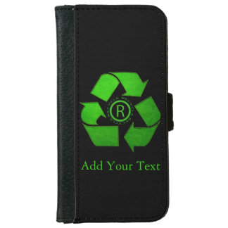 Recycle Logo iPhone 6 Wallet Case