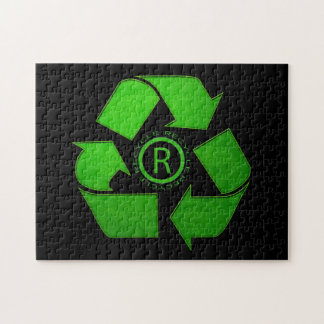 Recycle Logo Jigsaw Puzzles