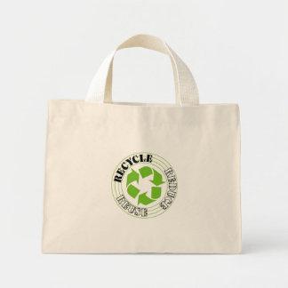 Recycle Logo Mini Tote Bag