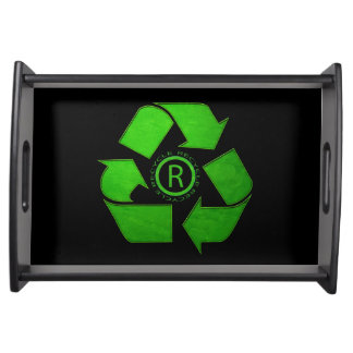 Recycle Logo Serving Tray