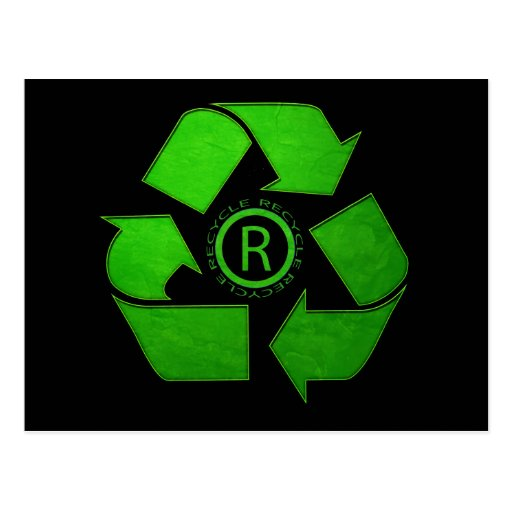 Recycle Logo Postcard