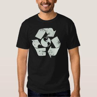recycle logo tee shirt