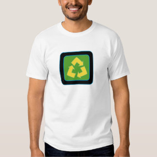 recycle logo tee shirts
