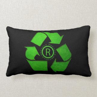 Recycle Logo Throw Cushions