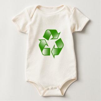 Recycle Logo Romper