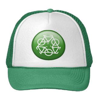 Recycle Logo w/ Bicycles Cap