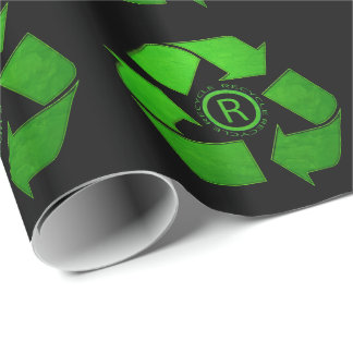 Recycle Logo Gift Wrap