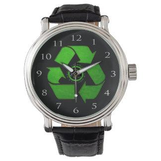 Recycle Logo Wrist Watch