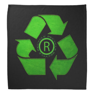 Recycle Logo Head Kerchief