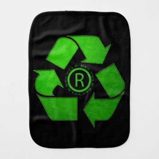 Recycle Logo Burp Cloths