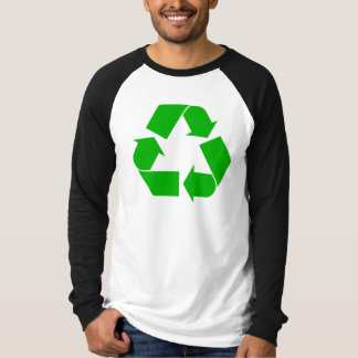 Recycle Long Sleeve Raglan T-Shirt