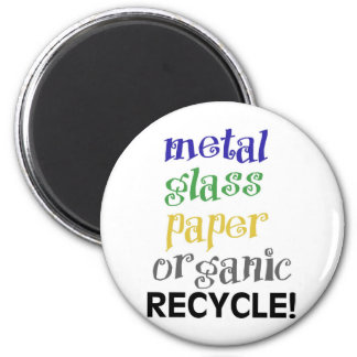 Recycle! Materials list! 6 Cm Round Magnet