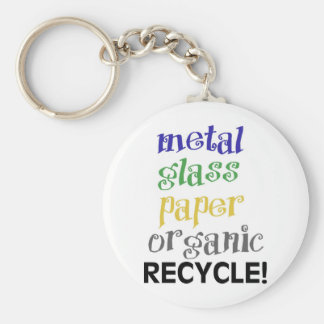 Recycle! Materials list! Keychains