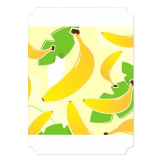 Recycle paper greeting / Bananas Card