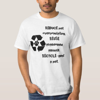 Recycle Pets tee