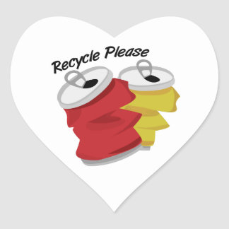 Recycle Please Stickers