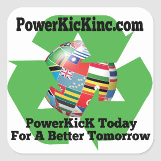 Recycle PowerKicK Sticker