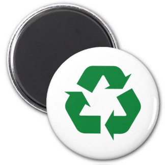 Recycle Products & Designs! 6 Cm Round Magnet
