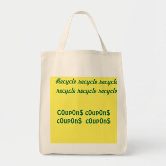 ReCyCle recycle recycle, c0up0n$ c0up0n$ c0up0n$ Tote Bag