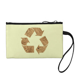 Recycle, Recycling Sign Change Purses